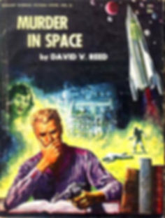 David V. Reed, Murder in Space, Galaxy Novel #23