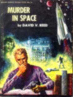 David V. Reed, Murder in Space, Galaxy Novel #23