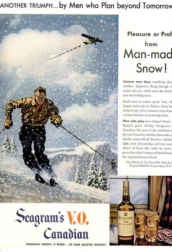 1947-03-17 Man-made snow