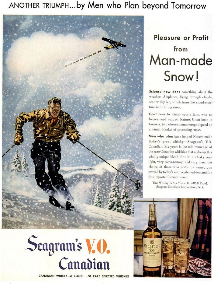 1947-03-17 Man-made snow