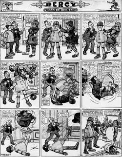 19120204 [Washington, DC] Evening Star, February 4, 1912 Percy mechanical man