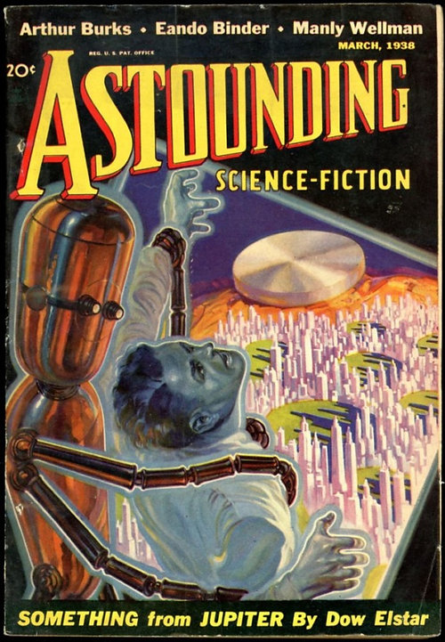 Astounding Stories march 1938, cover by