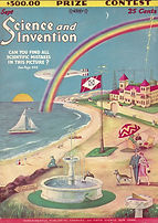 Science and Invention, cover, Sept. 1928