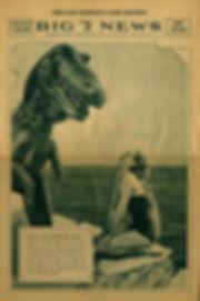 Sinclair Chicago Worlds Fair newspaper