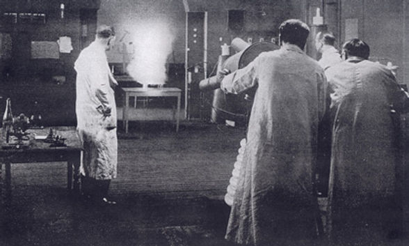 The Death Ray, 1924, movie still
