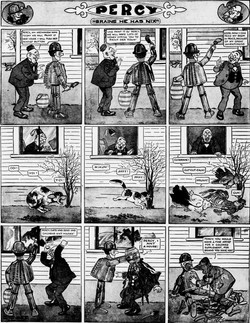 19120303 [Washington, DC] Evening Star, March 3, 1912 Percy mechanical man
