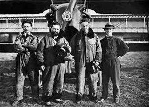 Rene Tampier, pilot and crew