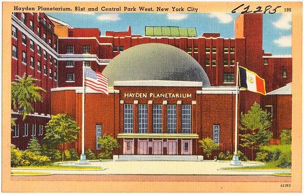 Hayden Planetarium, c1950