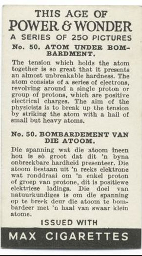 This Age of Power & Wonder #33 Atom Under Bombardment