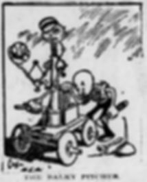 Pittsburgh Press, Jan. 1, 1905, p. 24 The Balky Pitcher