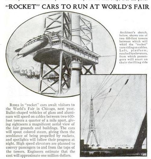 1932-09 Popular Science 10 'Rocket' Cars