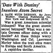 1949-07-31 Los Angeles Times, p. 96 review A Date with Destiny by Jerry Walker