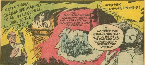 Captain Video #3 June 1951 The Indestructible Antagonist p. 18, panel