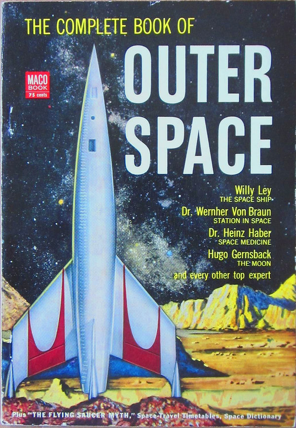 The Complete Book of Outer Space, Maco 1953 edition