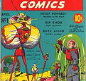 Superworld Comics #1, April 1940 cover.j