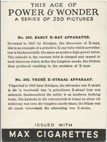 This Age of Power & Wonder #202 Early X-Ray Apparatus