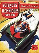 Sciences et Techniques Pour Tous, Dec. 1947, GM Rocatomic conceptual drawing