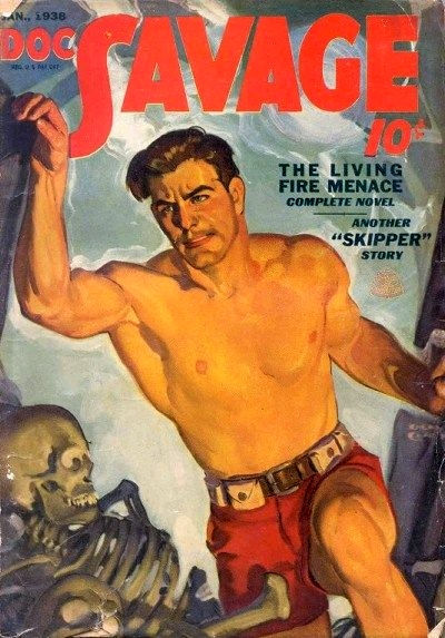 1938-01 Doc Savage cover