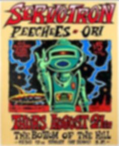 Servotron concert poster