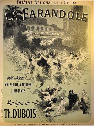 La Farandole poster