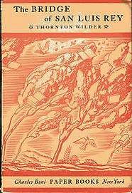 Thorton Wilder, The Bridge of San Luis Rey, Charles Boni Paper Books