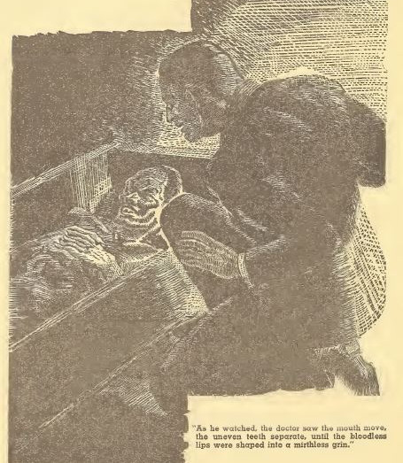 Weird Tales, October 1938, Jekal's Lesson