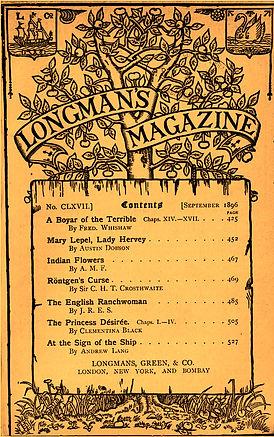 Longman's Magazine, September 1896