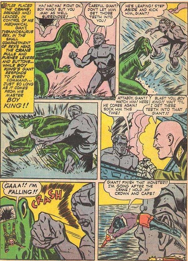 Clue Comics #5, September 1943