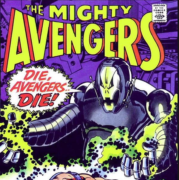 Avenges #67, August 1969 cover detail