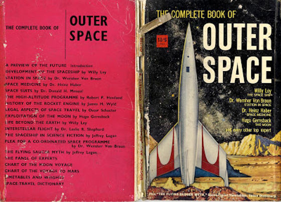 The Complete Book of Outer Space UK edit