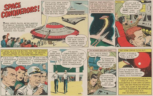 Space Conquerors Boy's Life Sept. 1962.J