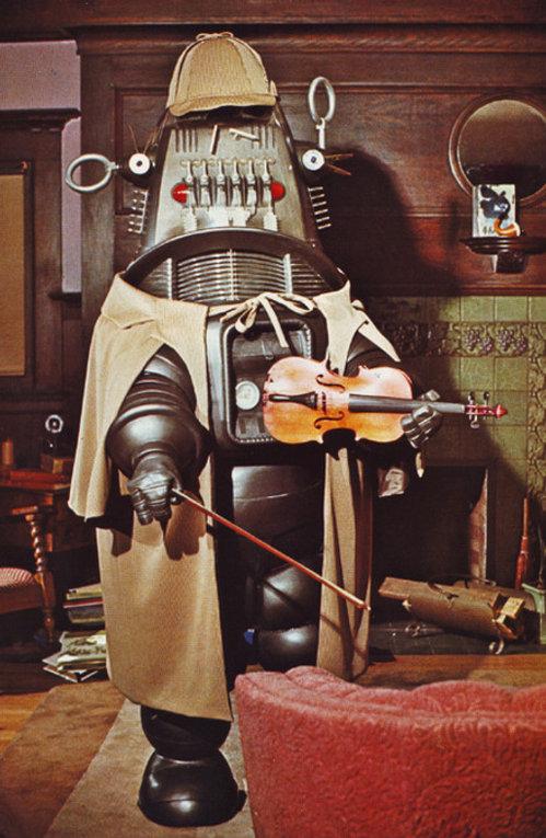 Robby the Robot as Sherlock Holmes.jpg