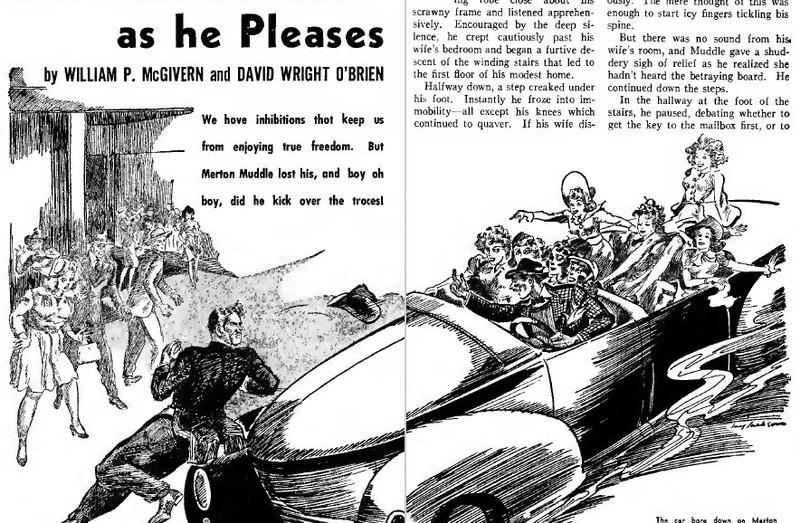 Amazing Stories, August 1941
