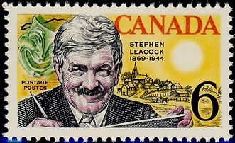 Stephen Leacock stamp