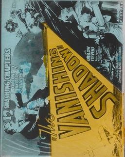 The Vanishing Shadow, 1933, poster