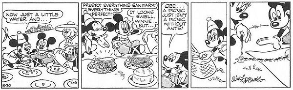 Mickey Mouse World of Tomorrow strip 8-30-44