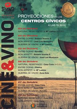 Cartel Oficial Cine&Vino