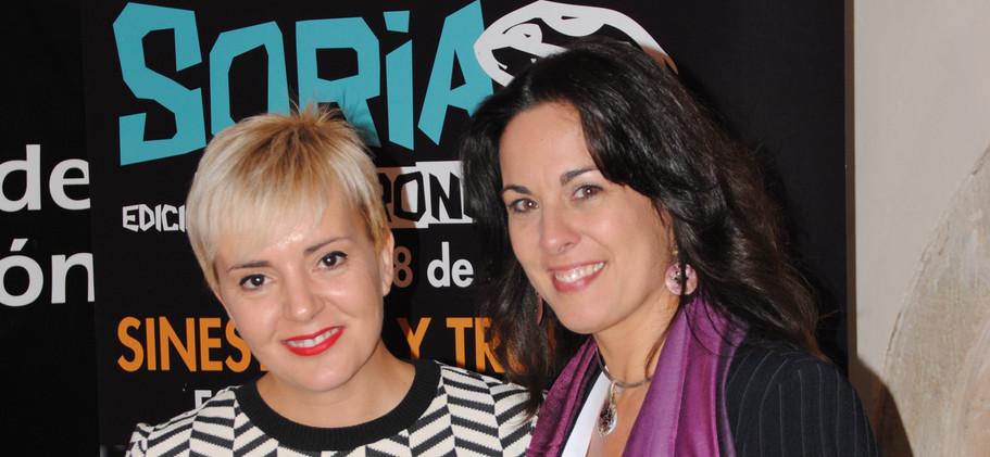Garbancita y Raquel Anaya