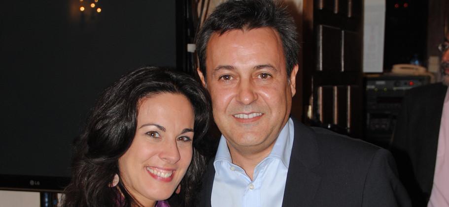 José Ribagorda y Raquel Anaya