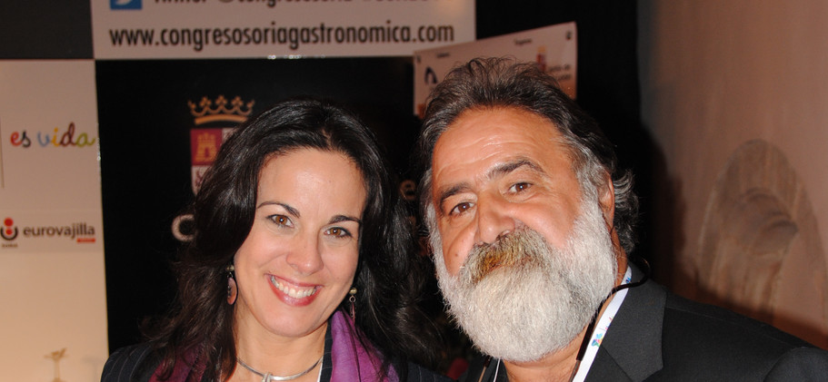 Javier Pérez Andrés y Raquel Anaya