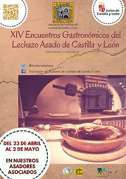 Cartel Encuentro gastronomicos lechazo 2