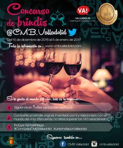 Concurso Twitter CMB Valladolid 2017