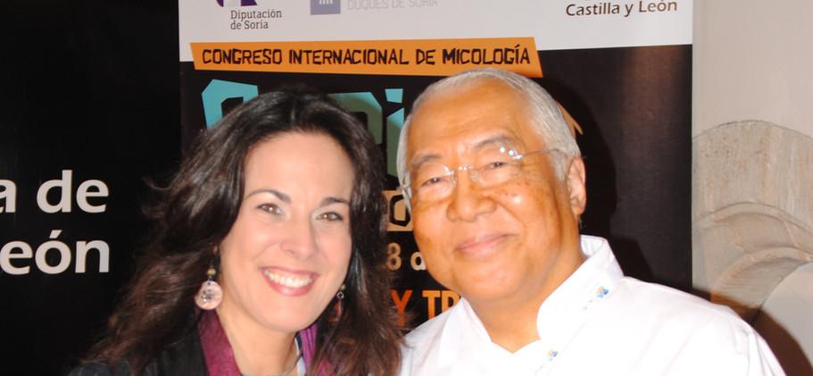 Chef Yukio Hattori y Raquel Anaya