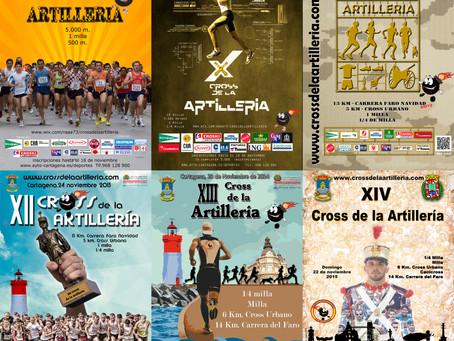 Concurso para diseñar el cartel de la XV edición del Cross de la Artillería.-