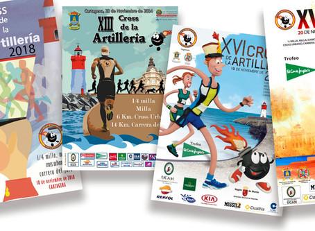 El Cross de la Artillería convoca el concurso para elegir cartel de su edición XVIII