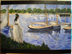 Reproduction of Manet
