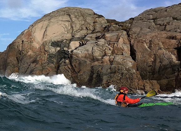 BRITISH CANOEING COASTAL SEA KAYAKER AWARD (4*) LØRDAG TIL SØNDAG