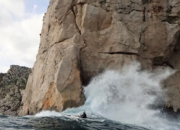 BRITISH CANOEING 4* COASTAL SEA KAYAKER AWARD MED NAVIGASJON CNTP FREDAG-SØNDAG