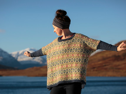 Healing From A Stroke: Kate Davies & Knitting