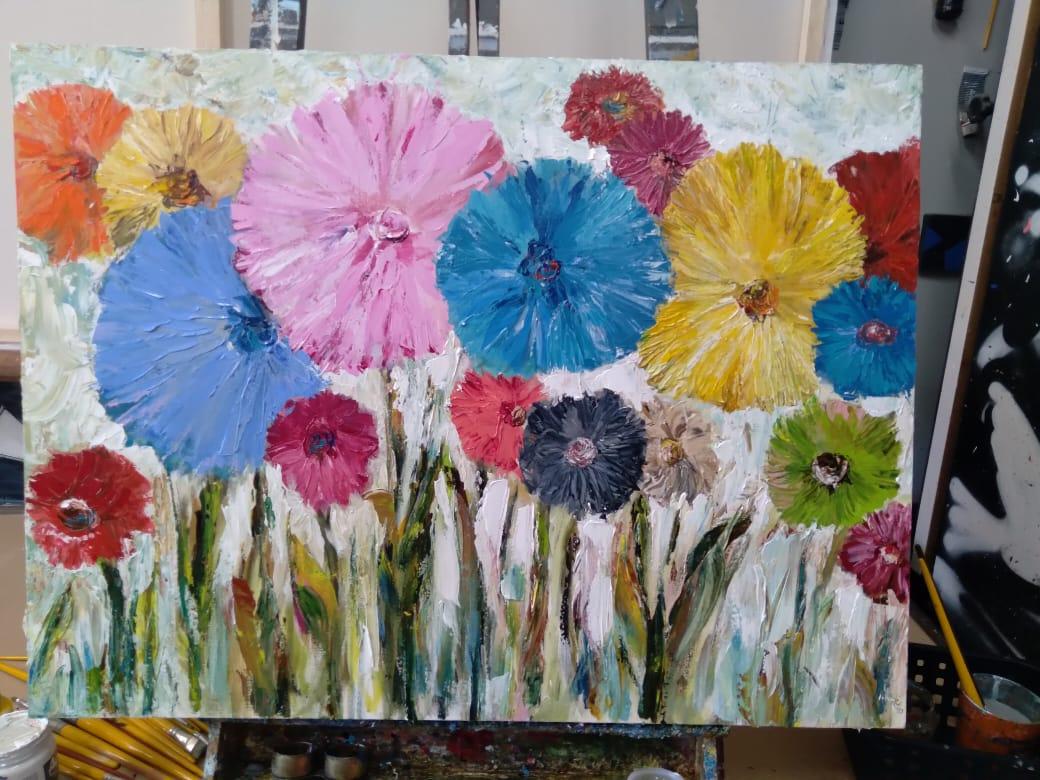 flores por espatula 3